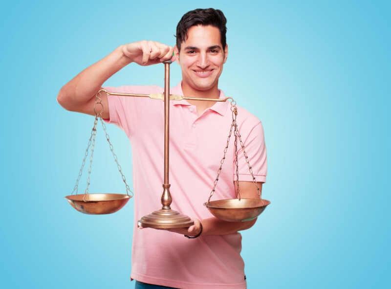 Uomo Bilancia